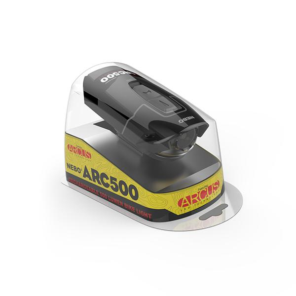 NEBO ARC500 Rechargeable Bike Light image 718066843672