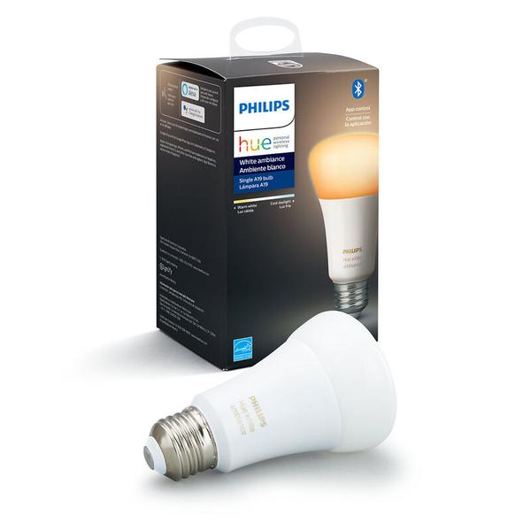 Philips Hue White Ambiance E26 2-Pack