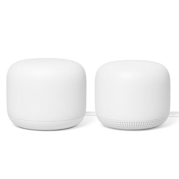 Google Nest Wi-Fi Router and Point