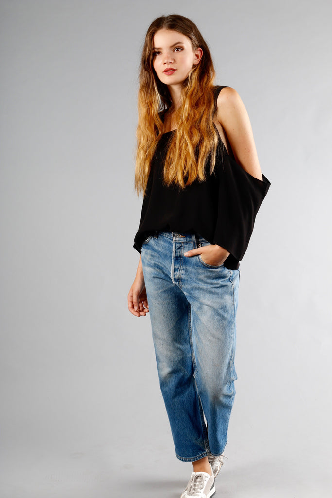 WILLOW TOP | BLACK
