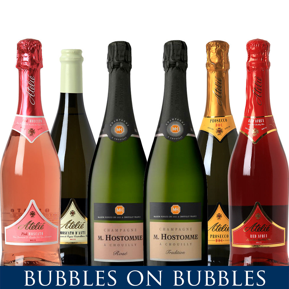 Bubbles on Bubbles | 12 Bottle - Variety Pack