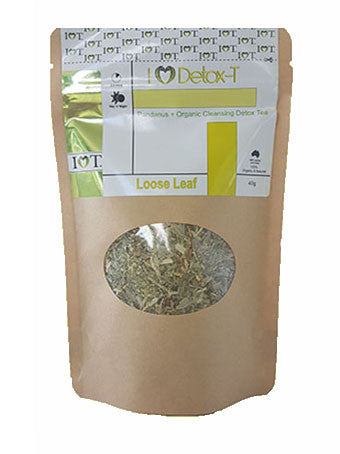 I Heart Detox Tea – Loose Leaf 40 grams