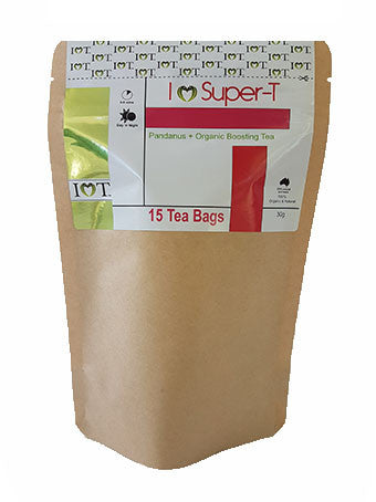I Heart Super Tea – 15 Tea Bags 30 grams