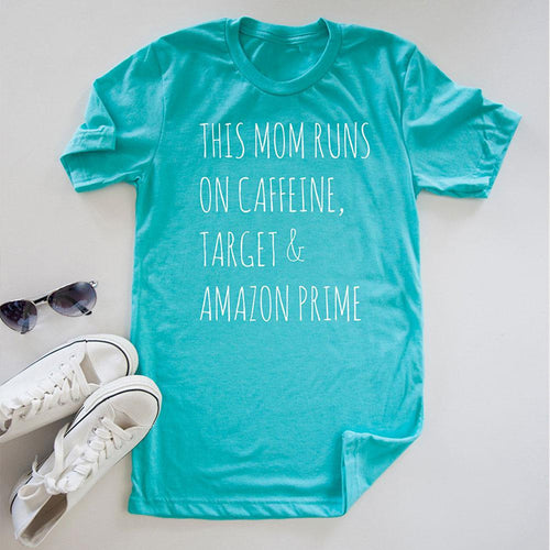 Mom Runs Tshirt