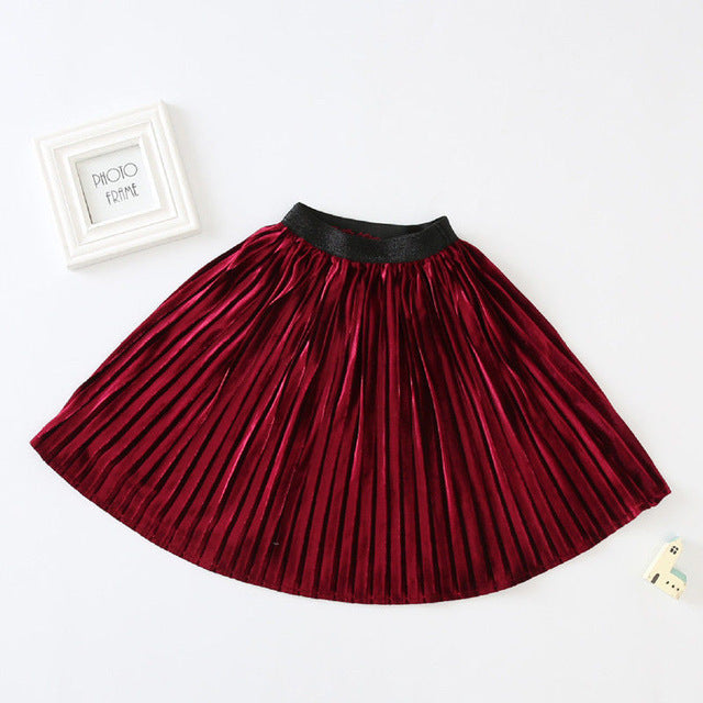 Pretty Pleated Skirt (2T-6T)