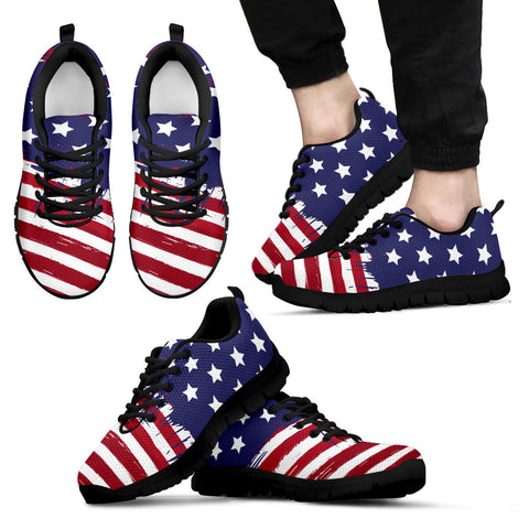 Patriotic Men's Sneakers