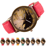 Colorful Watch with Horse Image
