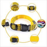 Safety Cheetah Style LED dog collars
