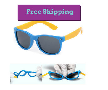 Unbreakable Flexible sunglasses for kids