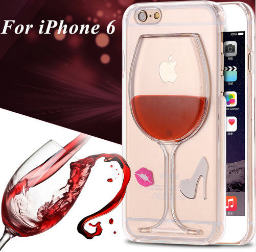 Iphone case-Wine Glass shell