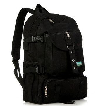 Outdoor Travelling backpack black