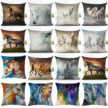 Horse pillow 16 pieces