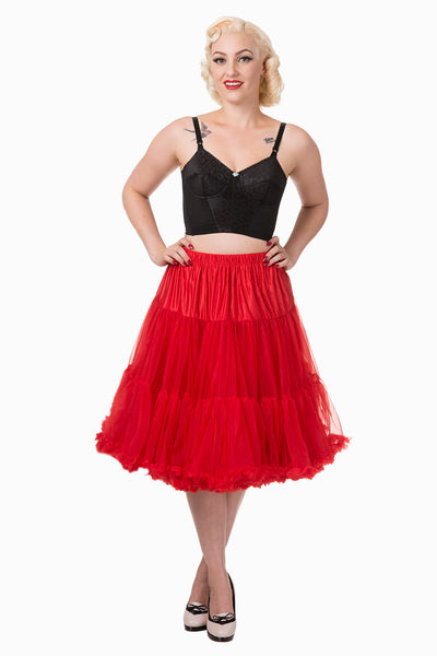 Banned Apparel Petticoat  Red