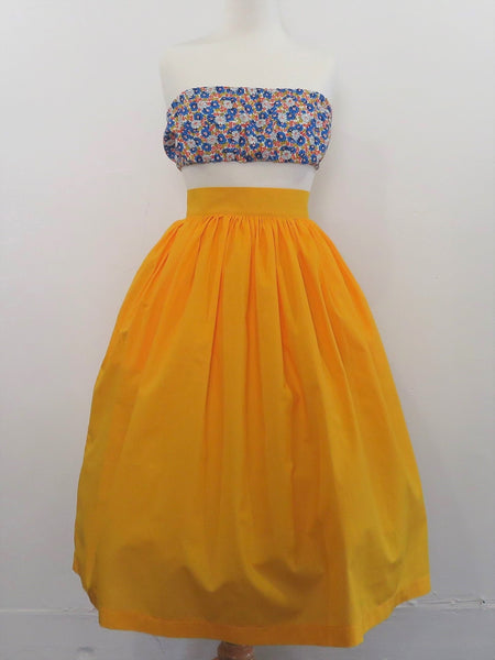 Margie Skirt in Canary Yellow