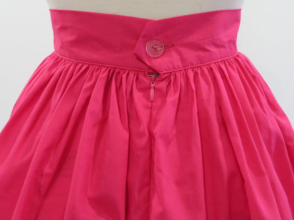 Skirt in Pink Cotton