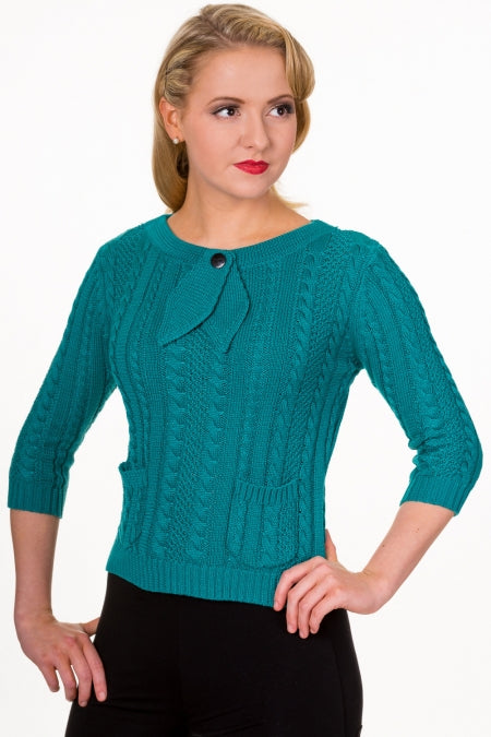 Slippery Slope Top Jumper