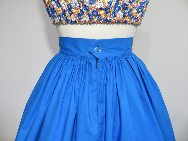 Margie Skirt in Electric Blue