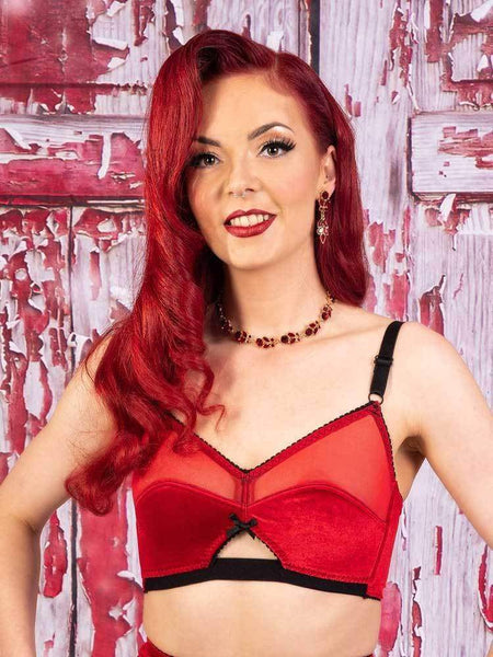 What Katie Did-Jessica Bra Red