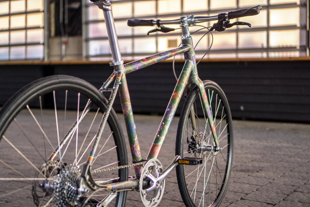 Roll Ihearttattoo And Stonewall S 1 Artists Edition Bike Collabora