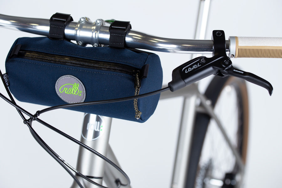 Gravel road bicycle bags