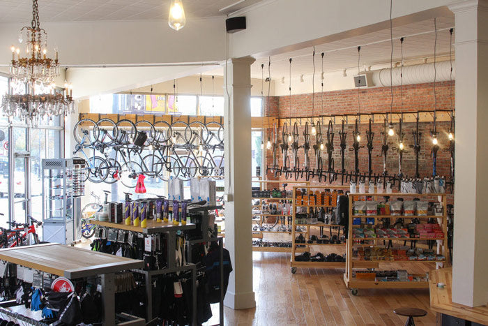 roll: Bicycle Company retail partner Meteor Café in Little Rock, Arkansas
