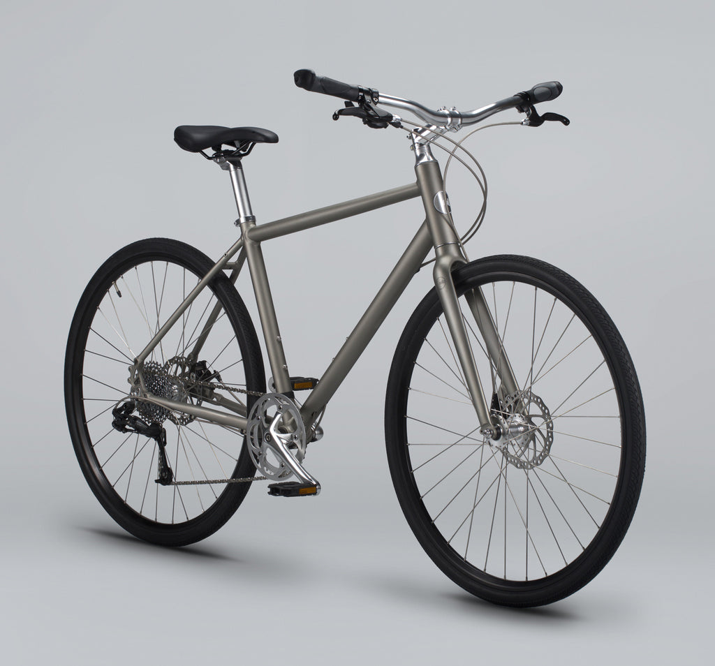 Roll: Bicycle Company C:1 City Bike in Silver