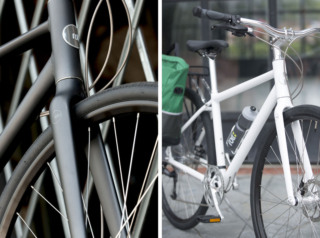 Roll: Bicycle Company City Bike in Silver