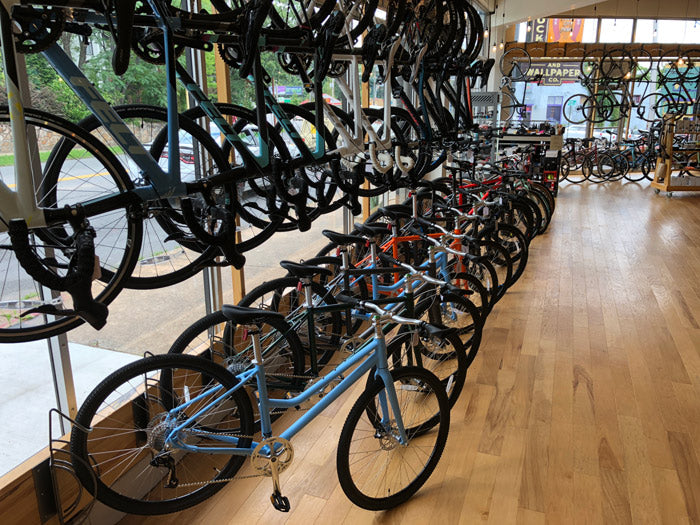 roll: Bicycle Compay at Meteor Café in Little Rock, Arkansas