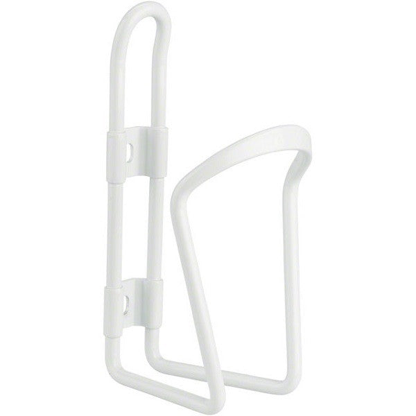 White Aluminium Water Bottle Cage