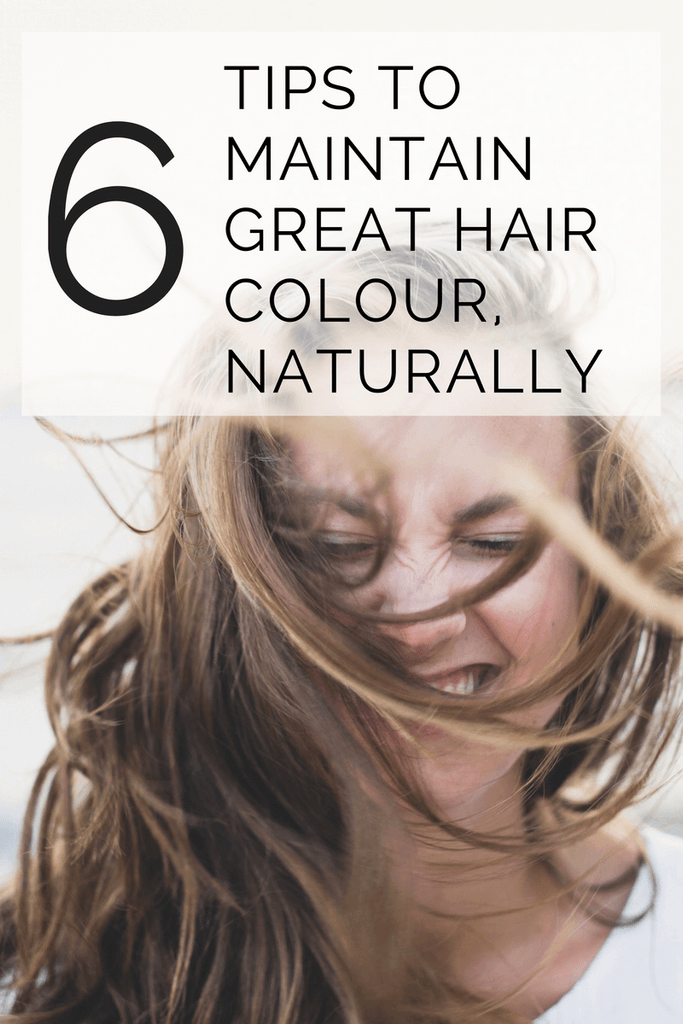 6 tips to maintain great hair colour, naturally