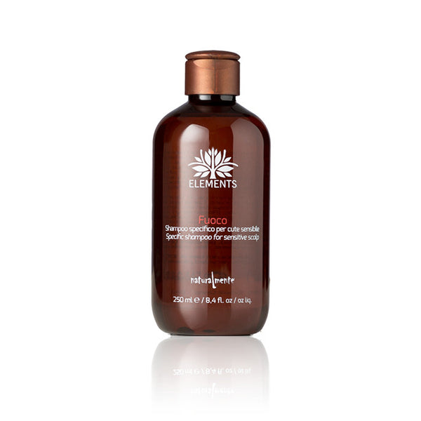'Fuoco' Sensitive Scalp Therapy Shampoo - Eviva Organics