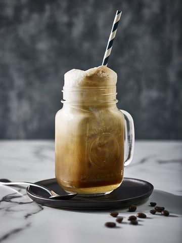 THE COOLEST WAY TO STAY CAFFEINATED. ESPRESSO SODA FLOAT