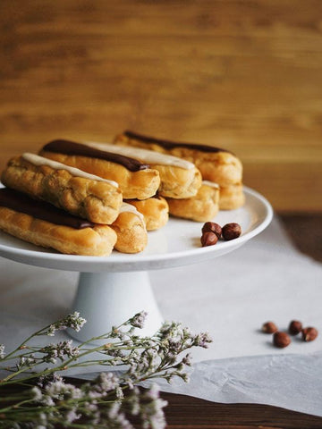 Coffee Cream Eclairs