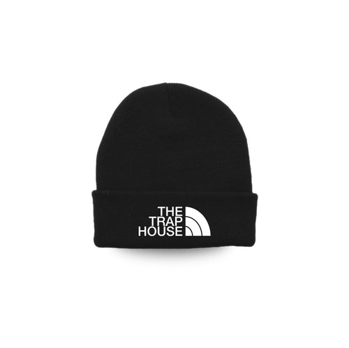 The Trap House Beanie ( Black )