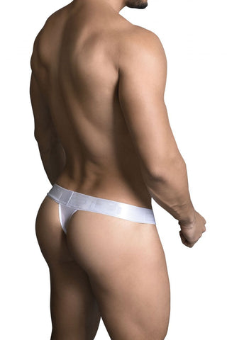 PPU - Large Band Exposed Thong (White)