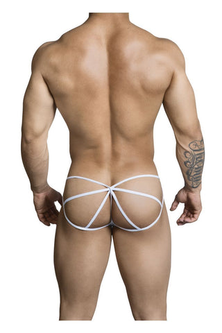 CandyMan - Envy Lace Thong (White)