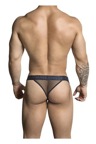 CandyMan - Sheer Thong (Black)