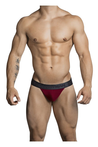 CandyMan - Sheer Thong (Burgundy)