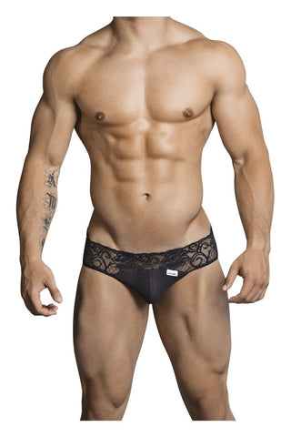 CandyMan - Envy Lace Thong (Black)