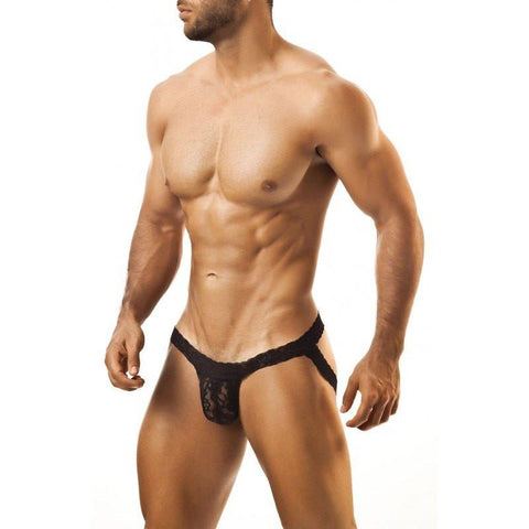 Joe Snyder — Lace Jockstrap (Black)