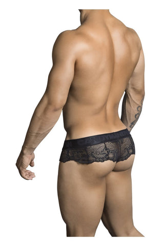 CandyMan - Mistress Lace Thong (Black)