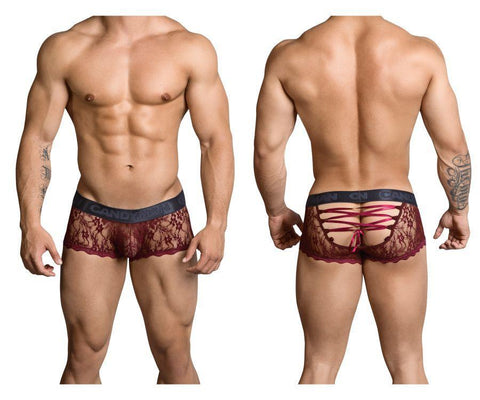 CandyMan - Silk Road Jock Trunk (Burgundy)