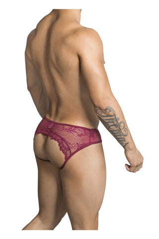 CandyMan - Modest Lace (Burgundy)