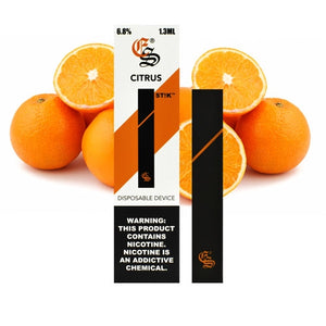 Citrus STIK Disposable Vapes (6.8 % Salt Nic)
