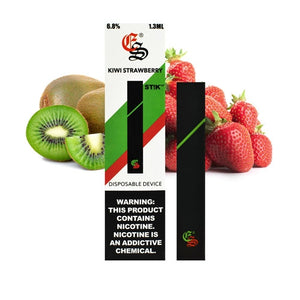 Kiwi Strawberry STIK Disposable Vapes (6.8 % Salt Nic)