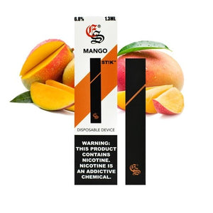 Mango STIK Disposable Vapes (6.8 % Salt Nic)