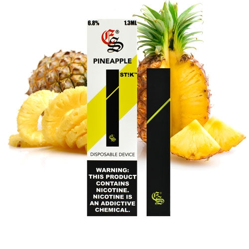 Pineapple STIK Disposable Vapes (6.8 % Salt Nic)