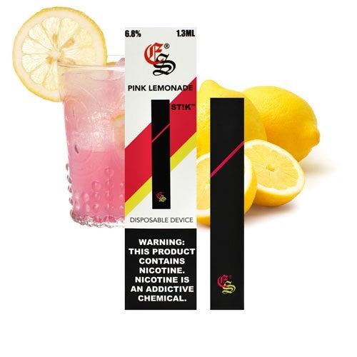 Pink Lemonade STIK Disposable Vapes (6.8 % Salt Nic)