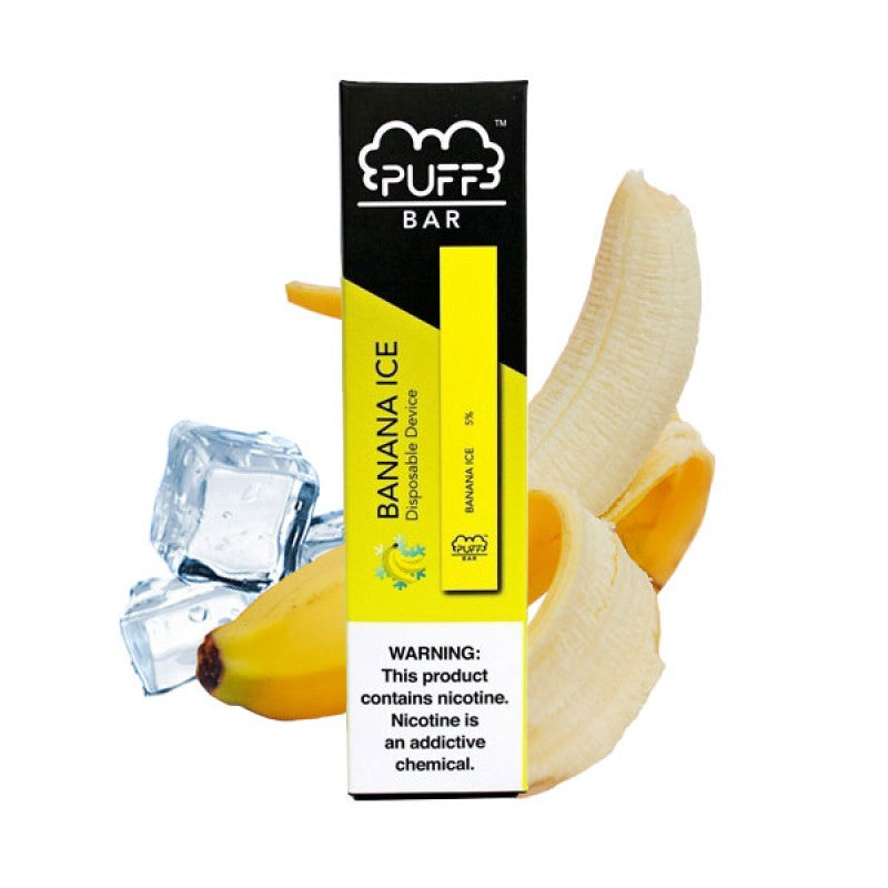 Banana Ice PUFF BAR (5% Disposable)
