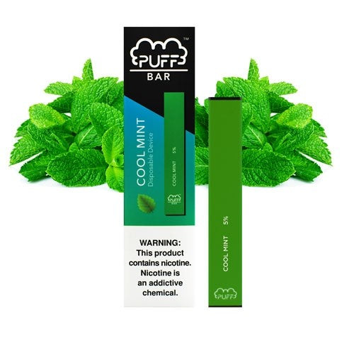 Cool mint PUFF BAR (5% Disposable)